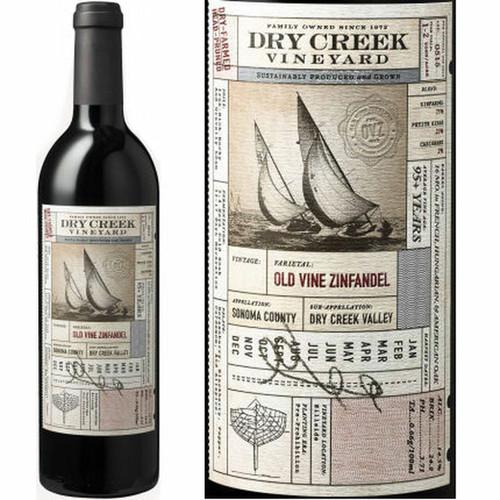 Dry Creek Vineyard 2015 Sonoma County Old Vine Zinfandel 750mL