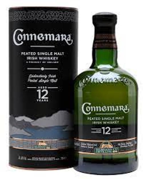 Connemara 12 Year Peated Single Malt Irish Whiskey 750mL