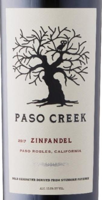 Paso Creek 2017 Paso Robles, California Zinfandel 750mL