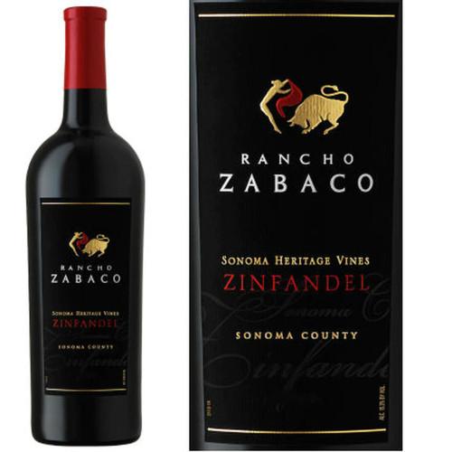 Rancho Zabaco Sonoma Heritage Vines 2017 Dry Creek Valley Sonoma County Zinfandel 750mL