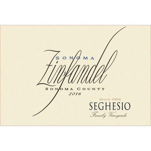 Seghesio Family Vineyard Sonoma County 2016 Sonoma Zinfandel 750mL