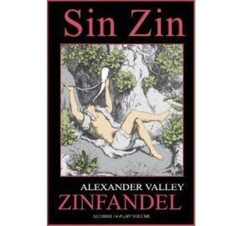 Alexander Valley Vineyards Sin Zin 2011 Zinfandel 750mL
