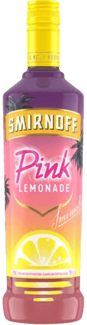 Smirnoff Pink Lemonade Flavored Vodka 750mL