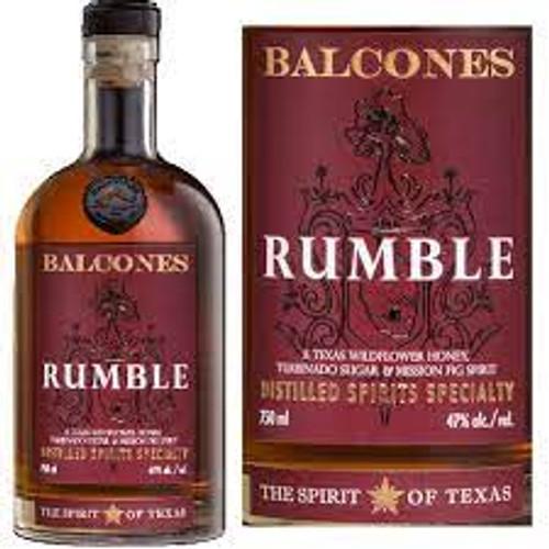 Balcones Rumble Texas Distilled Spirits Specialty Whiskey 750mL