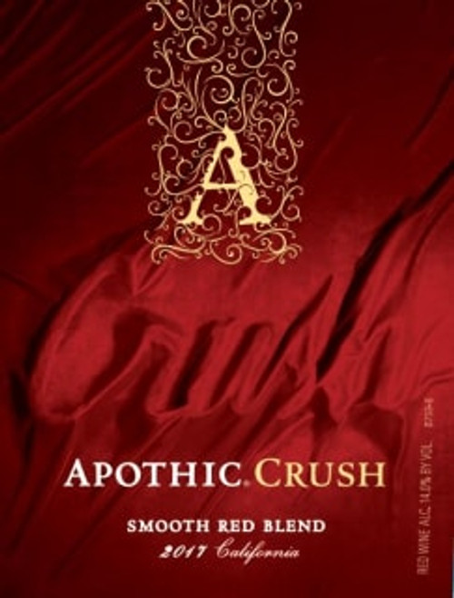 Apothic Crush 2017 California Smooth Red Blend 750mL