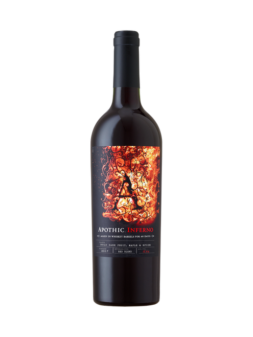 Apothic Inferno 2017 Aged in Whiskey Barrels for 60 Days Red Blend 750mL