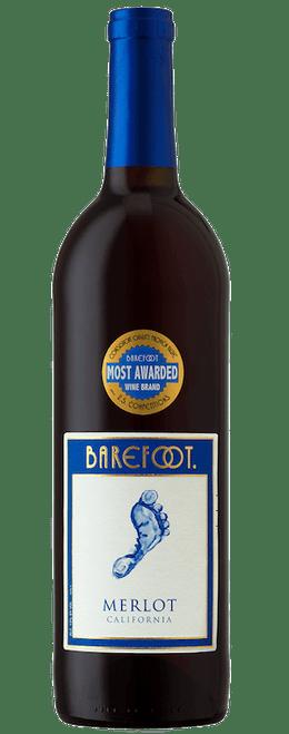 Barefoot NV California Merlot 750mL