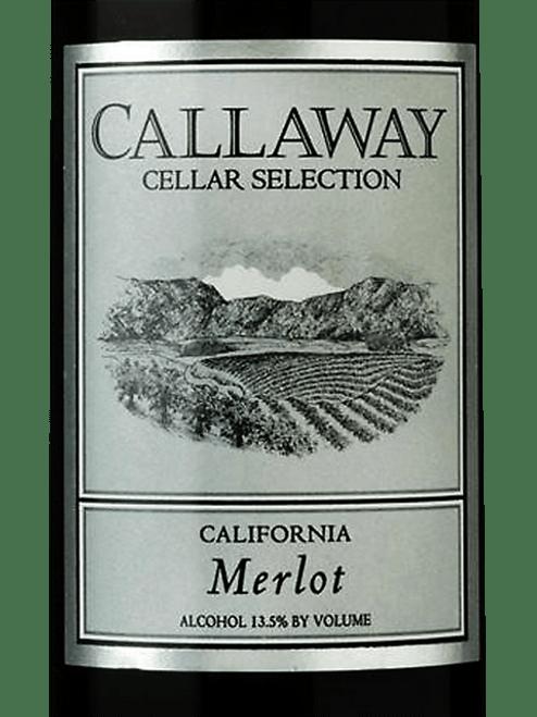 Callaway Cellar Selection Vintage 2013 California Merlot 750mL