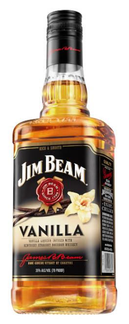 Jim Beam Vanilla Liqueur Infused with Kentucky Straight Bourbon Whiskey 750mL