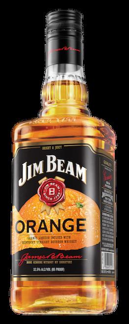 Jim Beam Orange Liqueur Infused with Kentucky Straight Bourbon Whiskey 750mL