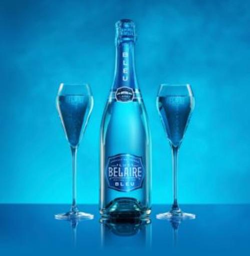 Luc Belaire Edition Limiteé Bleu French Champagne 750mL