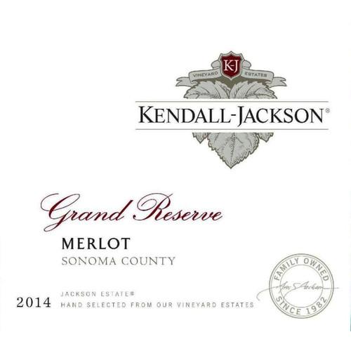 Kendall-Jackson 2014 Grand Reserve Jackson Estates Grown Sonoma County Merlot 750mL