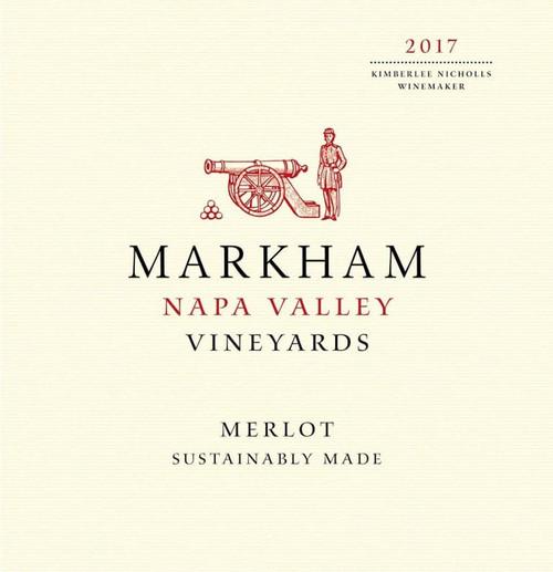 Markham Napa Valley Vineyards 2017 Merlot 750mL