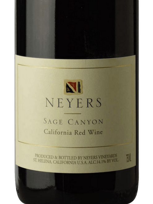 Neyers Sage Canyon 2011 California Red Wine 750mL