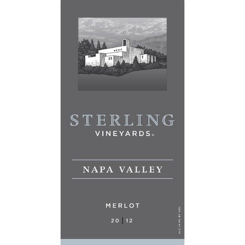 Sterling Vineyards 2012 Napa Valley Merlot 750mL