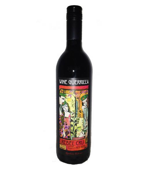 Wine Guerrilla 2012 Rebel Cru Sonoma County Red Wine 750mL
