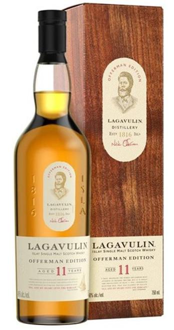 Lagavulin 11 Year Offerman Edition Islay Single Malt Scotch Whisky 750mL