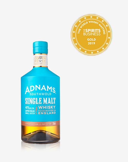 Adnams Southwold Single Malt English Whisky 750mL