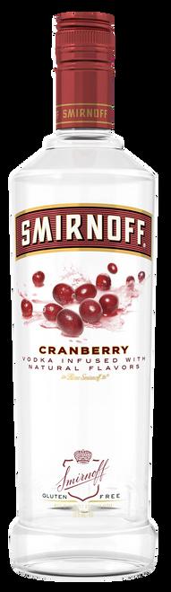 Smirnoff Cranberry Flavored Vodka 750mL