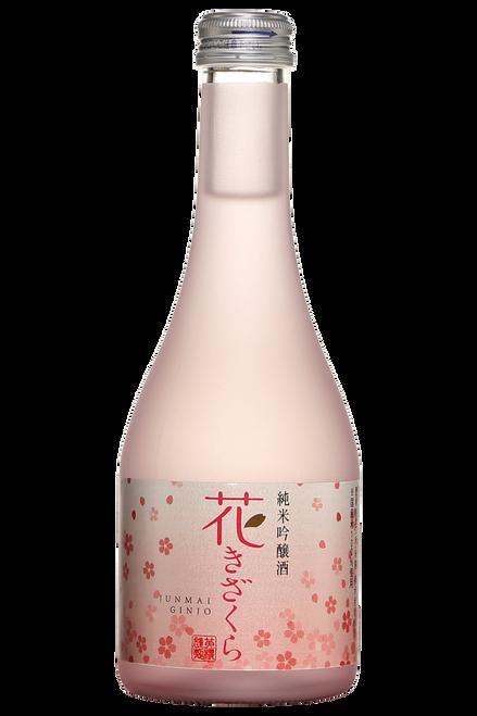 Hana Kizakura Junmai Ginjo Japanese Rrefined Sake 300mL