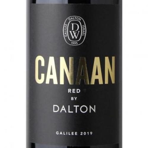 Dalton Canaan Red 2019 Galilee Israeli Dry Red Kosher Wine 750mL