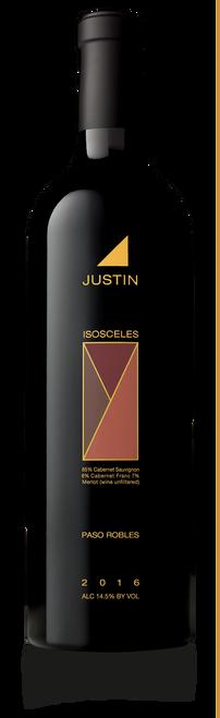 Justin Isosceles 2016 Paso Robles Red Wine 750mL