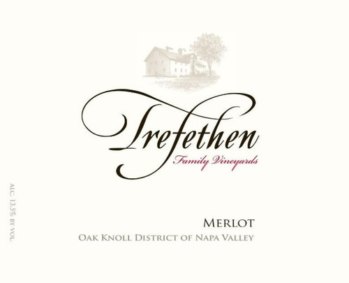 Trefethen Family Vineyards 2010 Oak Knoll District of Napa Valley Merlot 750mL