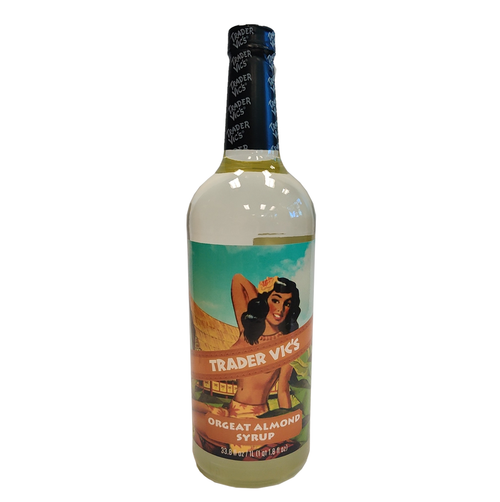 Trader Vic's Orgeat Almond Syrup 1L
