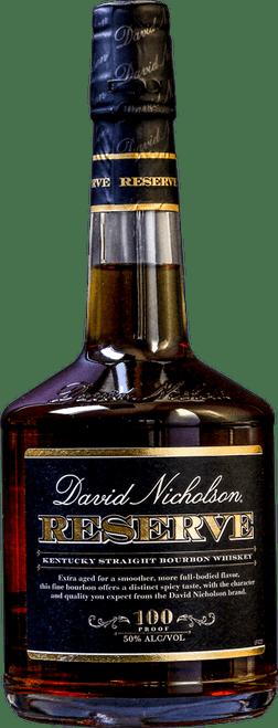 David Nicholson Reserve 100 Proof Kentucky Straight Bourbon Whiskey 750mL