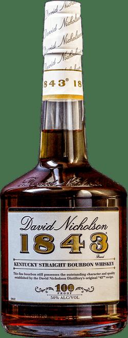 David Nicholson 1843 100 Proof Kentucky Straight Bourbon Whiskey 750mL