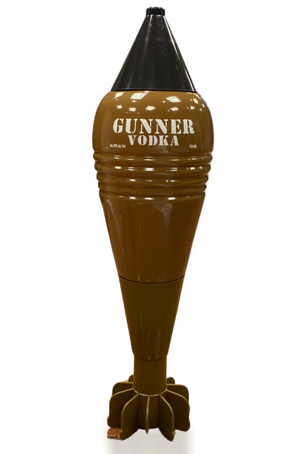 Gunner Vodka 750mL intact
