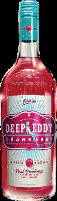 Deep Eddy Cranberry Flavored Vodka 750mL