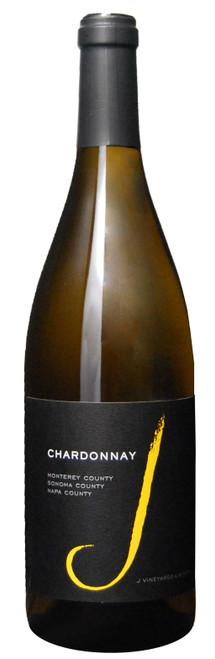 J Vineyards & Winery 2018 Monterey County Sonoma County Napa County Chardonnay 750mL