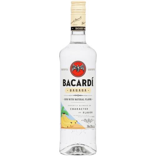 Bacardi Banana Flavored Rum 750mL
