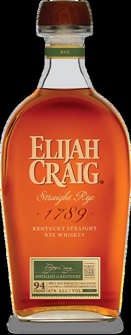 Elijah Craig Kentucky Straight Rye Whiskey 750mL