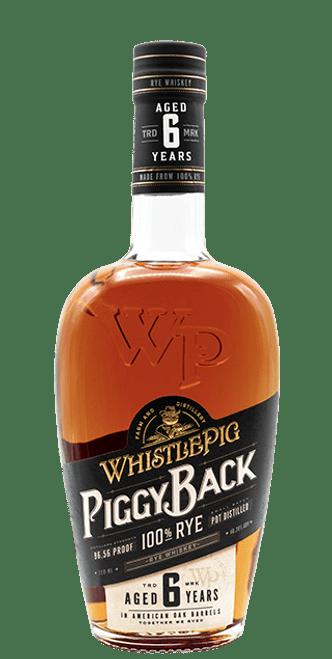 Whistlepig 6 Year Old Piggyback Rye 750mL
