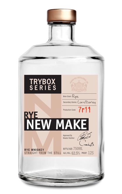 Heaven Hill Trybox Series Rye New Make Whiskey 750mL