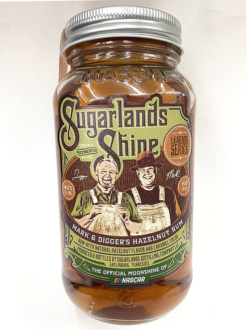 Sugarlands Shine Moonshine Mark & Digger's Hazelnut Rum 50mL