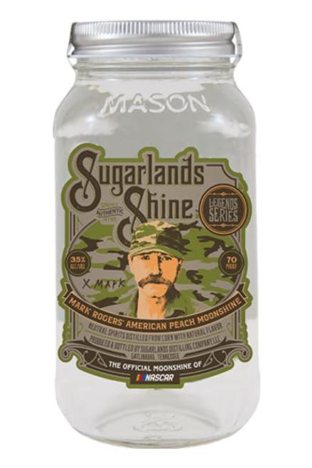 Sugarlands Shine Moonshine Mark Rogers' American Peach 50mL