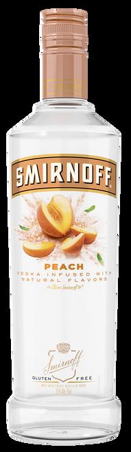 Smirnoff Peach Flavored Vodka 750mL