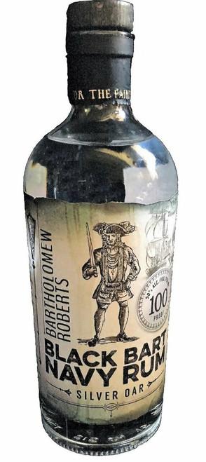 Black Bart Navy Rum Silver Oar 750mL