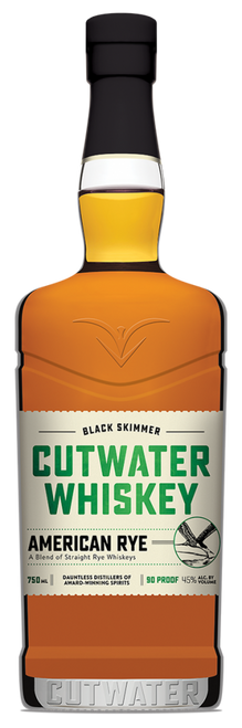 Cutwater Black Skimmer Rye Whiskey 750mL