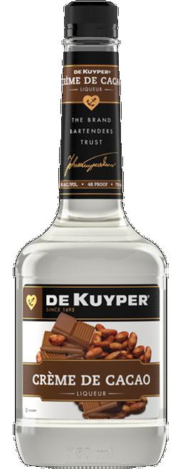 DeKuyper Creme De Cocoa White Liqueur 750mL