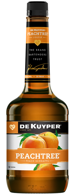 DeKuyper Peachtree Schnapps Liqueur 1L