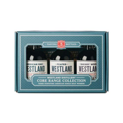 Westland Distillery Core Range Single Malt Whiskey 3-200mL Collection
