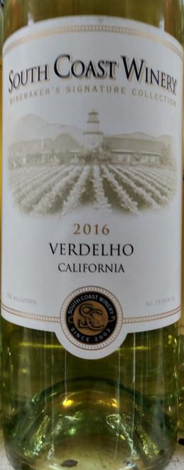 South Coast Winery Winemaker's Signature Collection 2016 California Verdelho 750mL