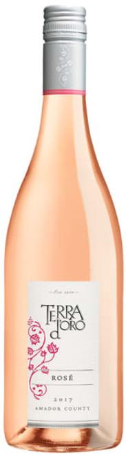 Terra d'Oro 2017 Amador County California Rosé 750mL
