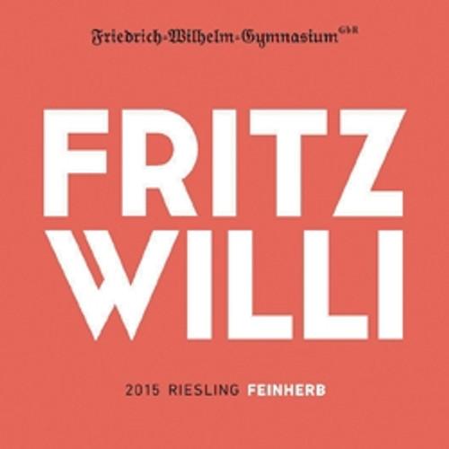 Friedrich-Wilhelm-Gymnasium Fritz Willi 2015 Riesling Feinherb 750mL