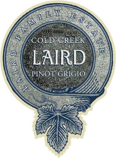 Laird Family Estates 2017 Cold Creek Pinot Grigio 750mL
