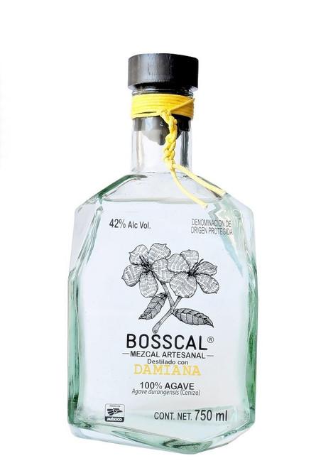 Bosscal Mezcal Damiana 750mL